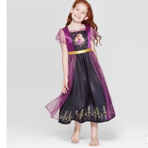 New Disney Girls' Frozen Fantasy Nightgown Dress